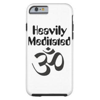 """""""Meditated pesadamente"""" el caso del iPhone 6/6s Funda Resistente iPhone 6"""