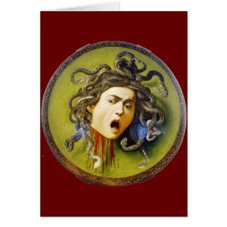 Medusa de Caravaggio Tarjetón