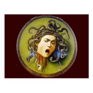 Medusa de Caravaggio Tarjeta Postal