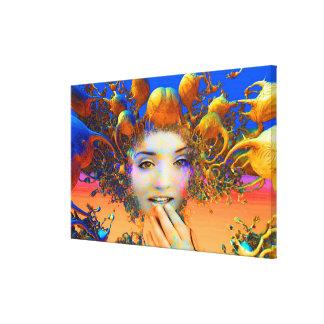 Medusa orgánica impresiones de lienzo