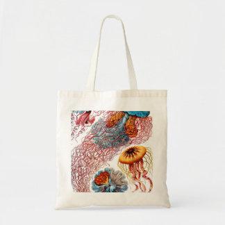 Medusas de Ernst Haeckel Discomedusae Bolso De Tela