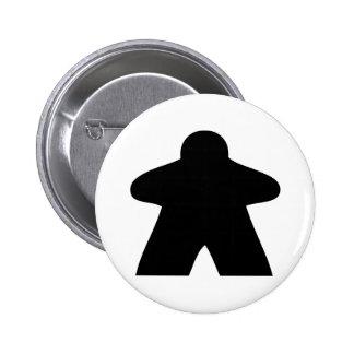 Meeple Button Chapa Redonda De 5 Cm