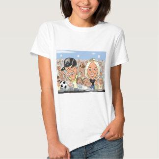 Megan-Caricatura Camisetas