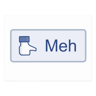 Meh - Facebook Postales