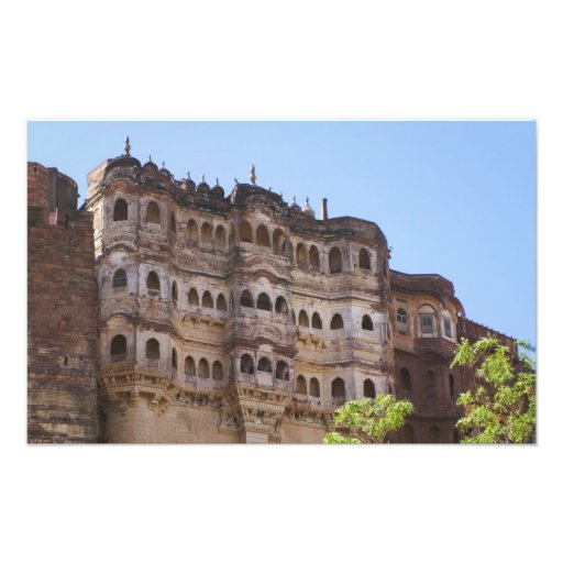 Meherangarh, el fuerte majestuoso, Jodhpur, Cojinete