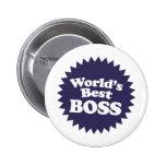 Mejor Boss del mundo Pins