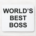Mejor Boss del mundo Tapete De Ratón