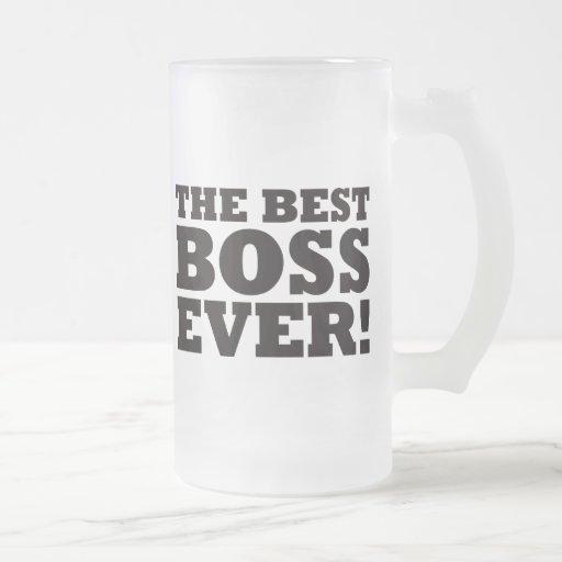 Mejor Boss nunca Taza