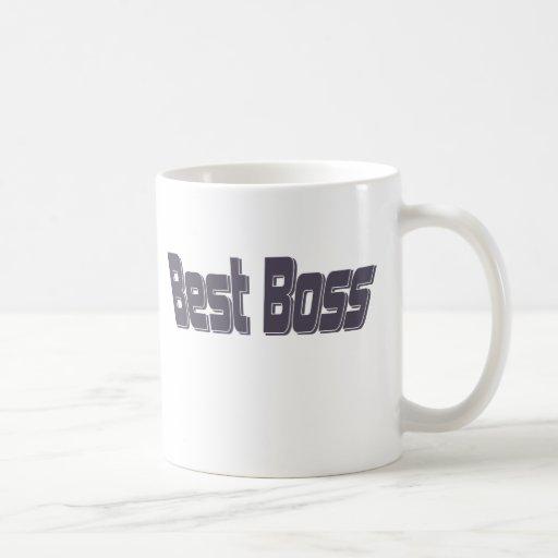 Mejor Boss Tazas
