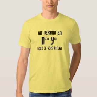 Mejor del goza del SE del en Nueva York Aqui del Camiseta