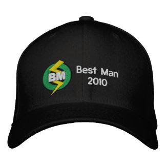Mejor gorra personalizado, bordado del hombre gorras de beisbol bordadas