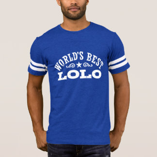Mejor Lolo del mundo Camiseta