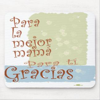 Mejor Mamá del La. Mousepad Tapetes De Raton