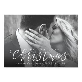 Mejor que navidad ahorre la tarjeta de Navidad de