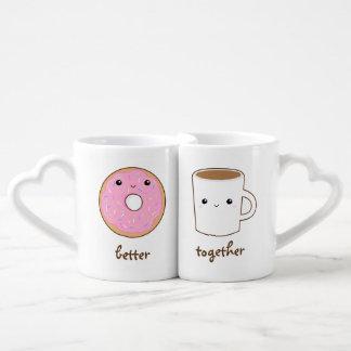 Mejore junto asalta set de tazas de café