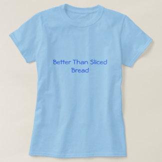 Mejore que la camiseta cortada del pan