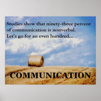 Mejoremos nuestras capacidades de comunicación (l) póster