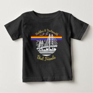 Mejores amigos de Nueva Escocia Halifax Dartmouth Camiseta De Bebé