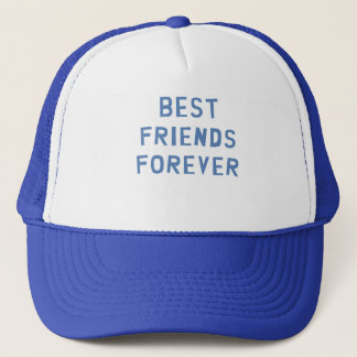 Mejores amigos para siempre gorra de camionero