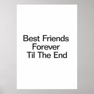 Mejores amigos para siempre hasta el extremo poster