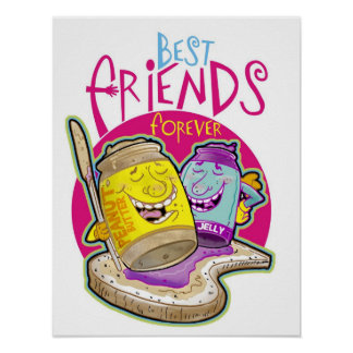 ¡Mejores amigos para siempre! Póster