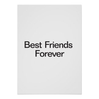 Mejores amigos para siempre posters