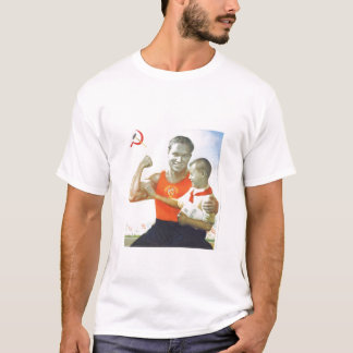 Melbourne flamea la camiseta del gimnasio