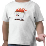 Melcocha llameante camiseta