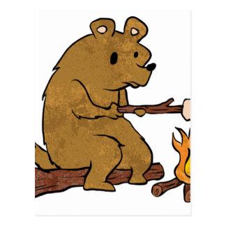 melcochas de la asación del oso postal
