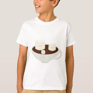 Melcochas en chocolate caliente camiseta