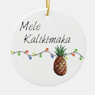 Mele Kalikimaka - ornamento del navidad