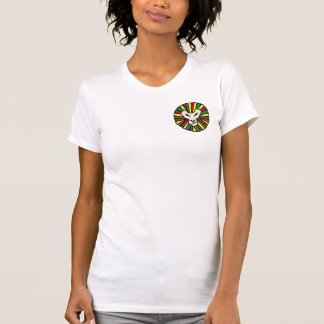 Melena coloreada Rastafari del león Camiseta