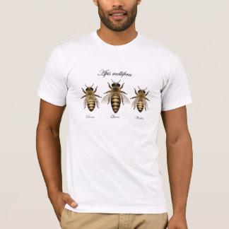 Mellifera de los Apis de la abeja de la miel Camiseta