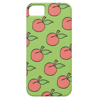 Melocotón con la caja verde 5/5s del iPhone del Funda Para iPhone SE/5/5s