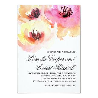 Compra tus invitaciones de boda con diseños con acuarelas en la gran selección de Zazzle.