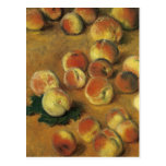Melocotones de Claude Monet Postales