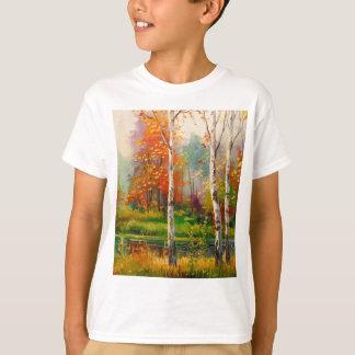 Melodía del otoño camiseta
