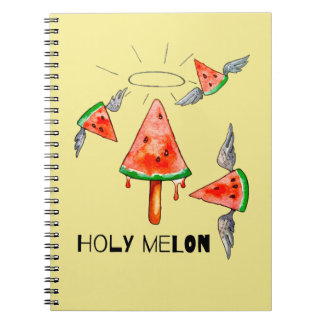 Melón santo cuaderno