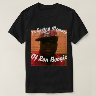 Memoria cariñosa de la boogie de Ron, camiseta