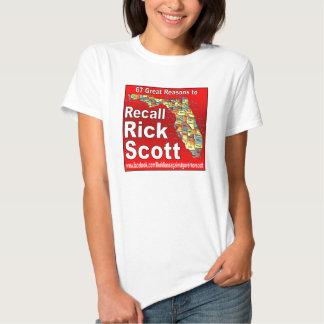 Memoria Rick Scott Camisetas
