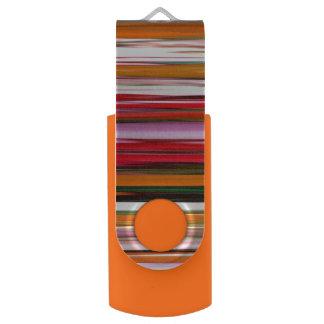 Memoria USB #2 abstracto: Falta de definición anaranjada