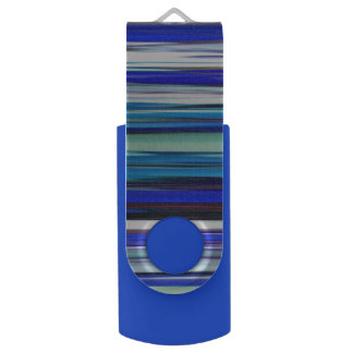 Memoria USB #2 abstracto: Falta de definición azul