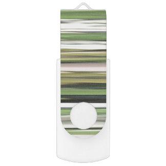 Memoria USB #2 abstracto: Falta de definición del verde verde