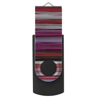 Memoria USB #2 abstracto: Falta de definición roja