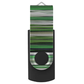 Memoria USB #2 abstracto: Falta de definición verde