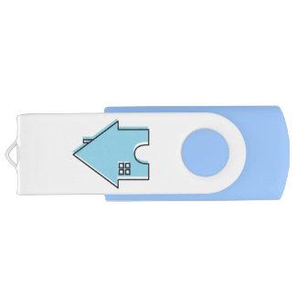Memoria USB adaptable del agente inmobiliario de