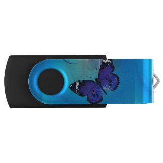 Memoria USB adaptable del eslabón giratorio de USB