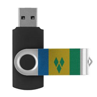 Memoria USB Bandera de San Vicente y las Granadinas
