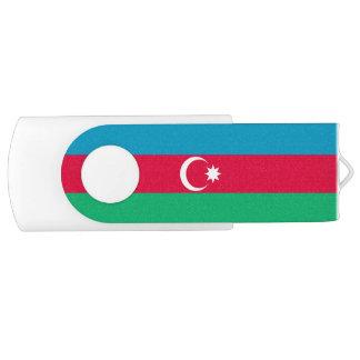 Memoria USB Bandera patriótica de Azerbaijan