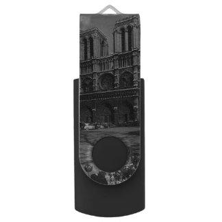 Memoria USB Catedral de Francia París Notre Dame del vintage